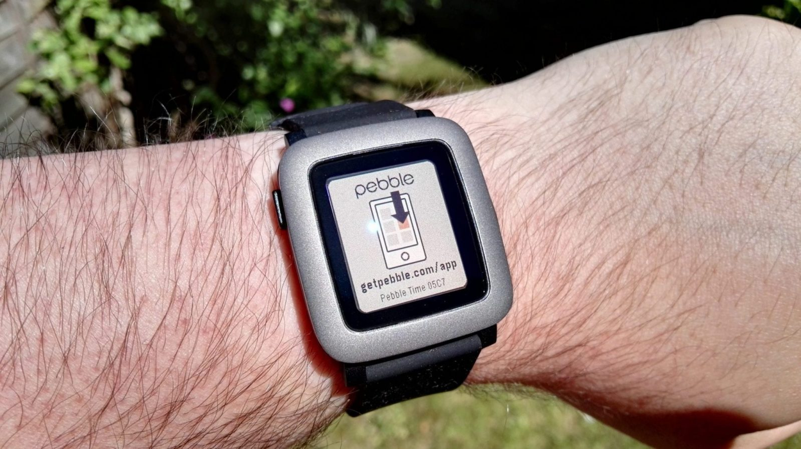 Pebble Time in the sun