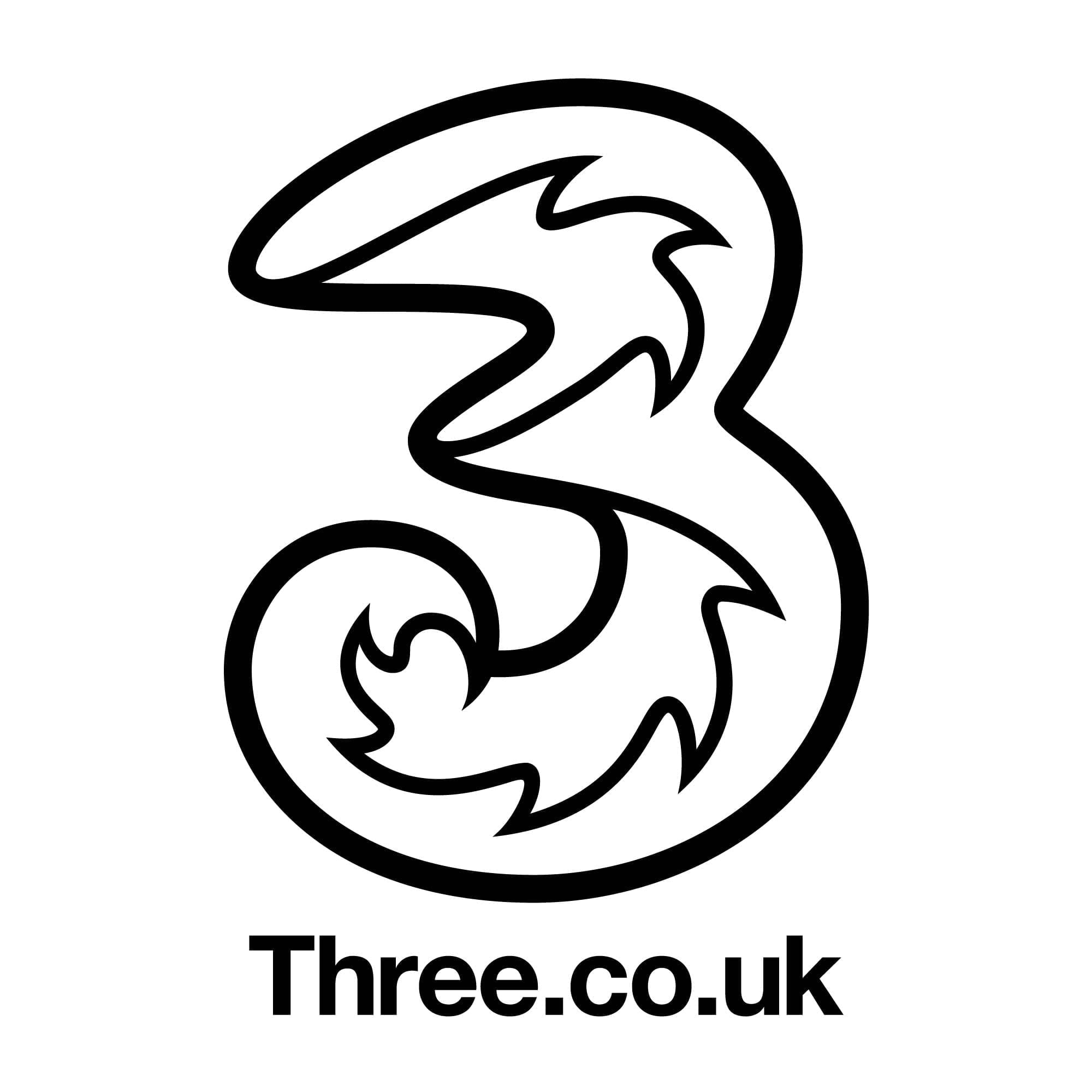 Three network logo