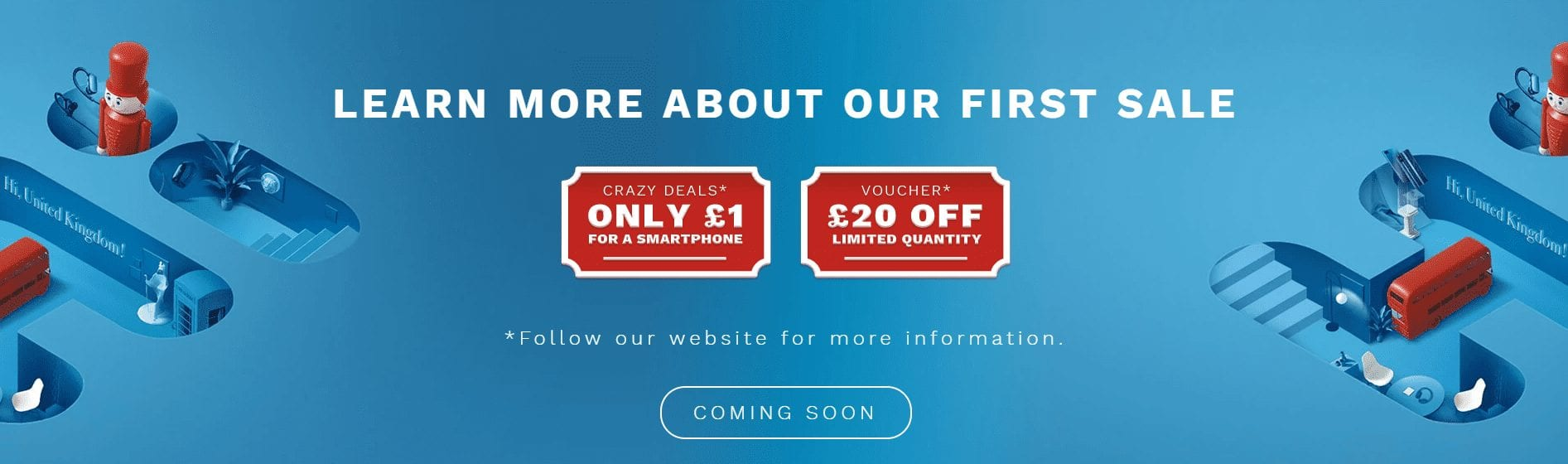Special offers for early adopters